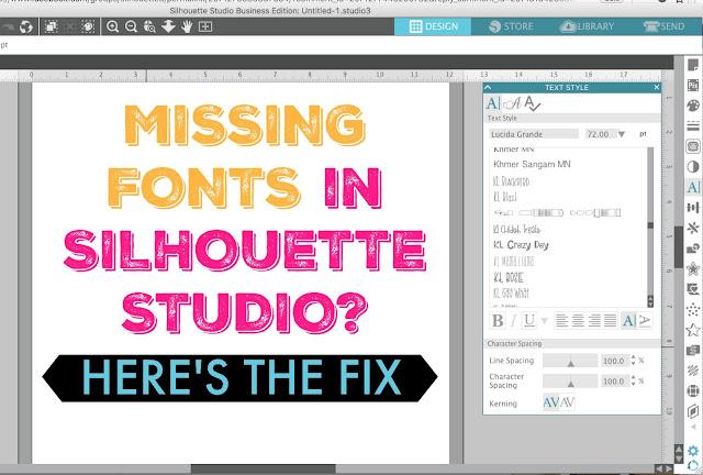 silhouette fonts, silhouette cameo fonts, silhouette font, silhouette 101, silhouette america blog