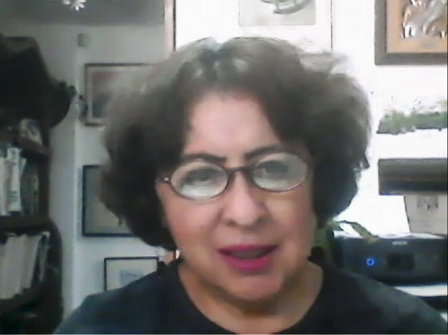 Milagros Figueroa Campos, académica de la Facultad de Psicología (FP) de la UNAM.