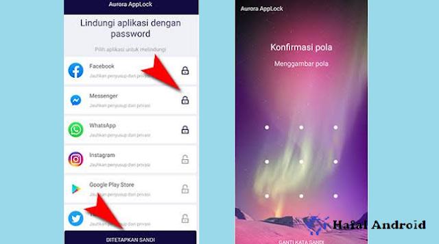 Mengunci Aplikasi di Oppo dengan Alikasi Tambahan