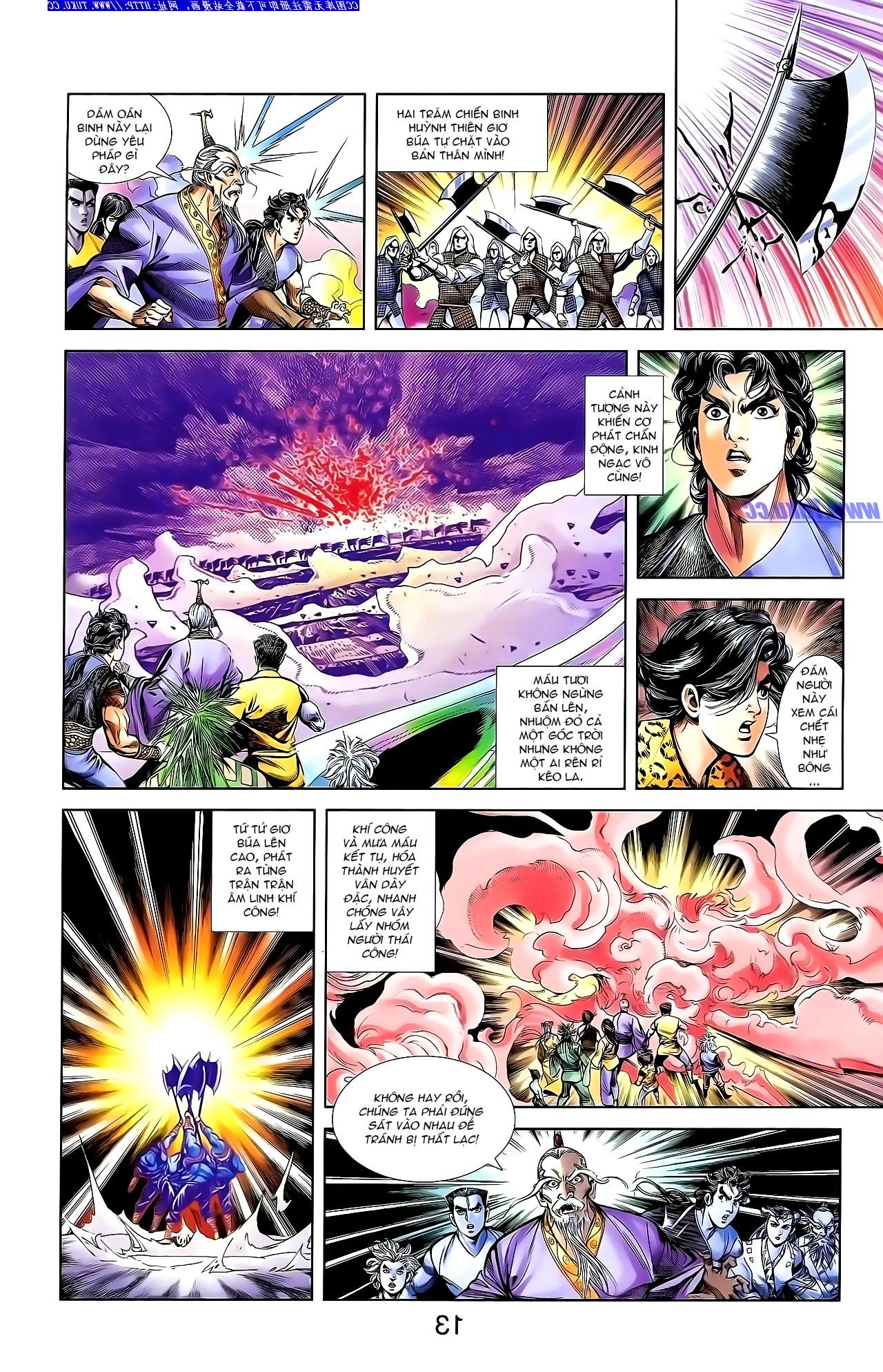 Cơ Phát Khai Chu Bản chapter 142 trang 22