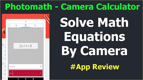 Math Caluclator - Solve Math Problem by Photo