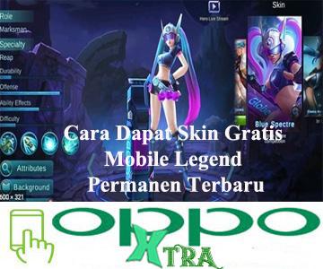Cara Dapat Skin Gratis Mobile Legend Permanen Terbaru