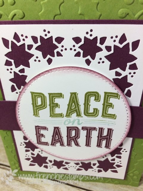 Carole of Christmas, Card Front Builder Thinlits, Stampin'Up!