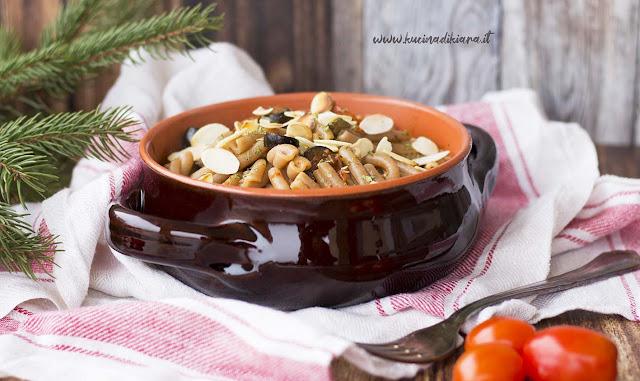 Pasta integrale alla siciliana