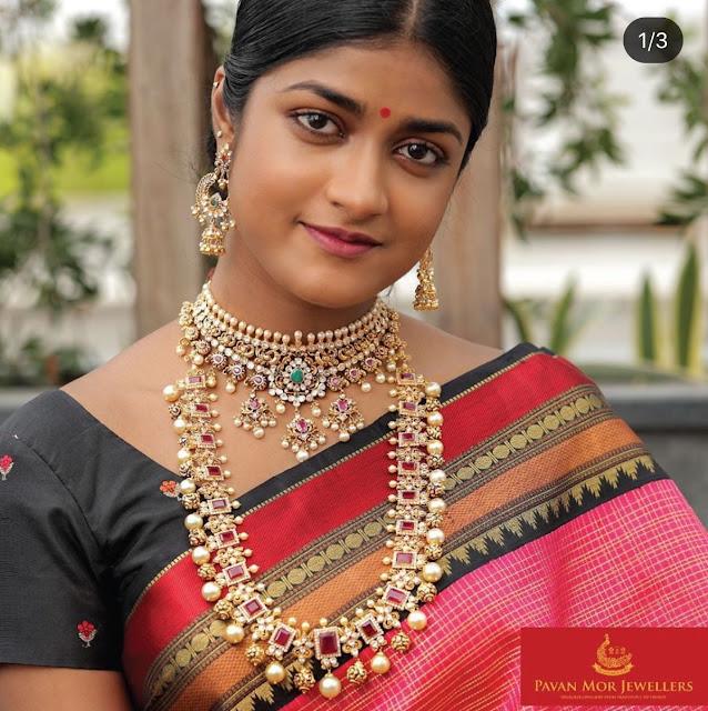 Ruby Haram with Nakshi Balls