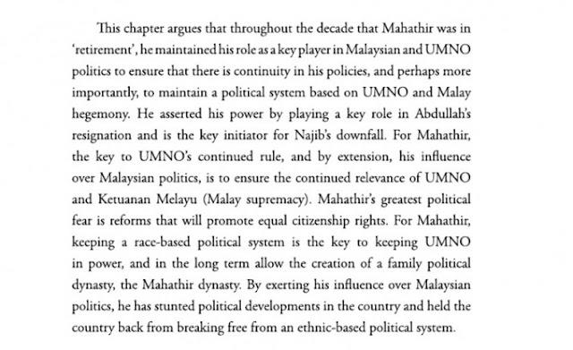 Apa yang sebenarnya Mahathir mahu?
