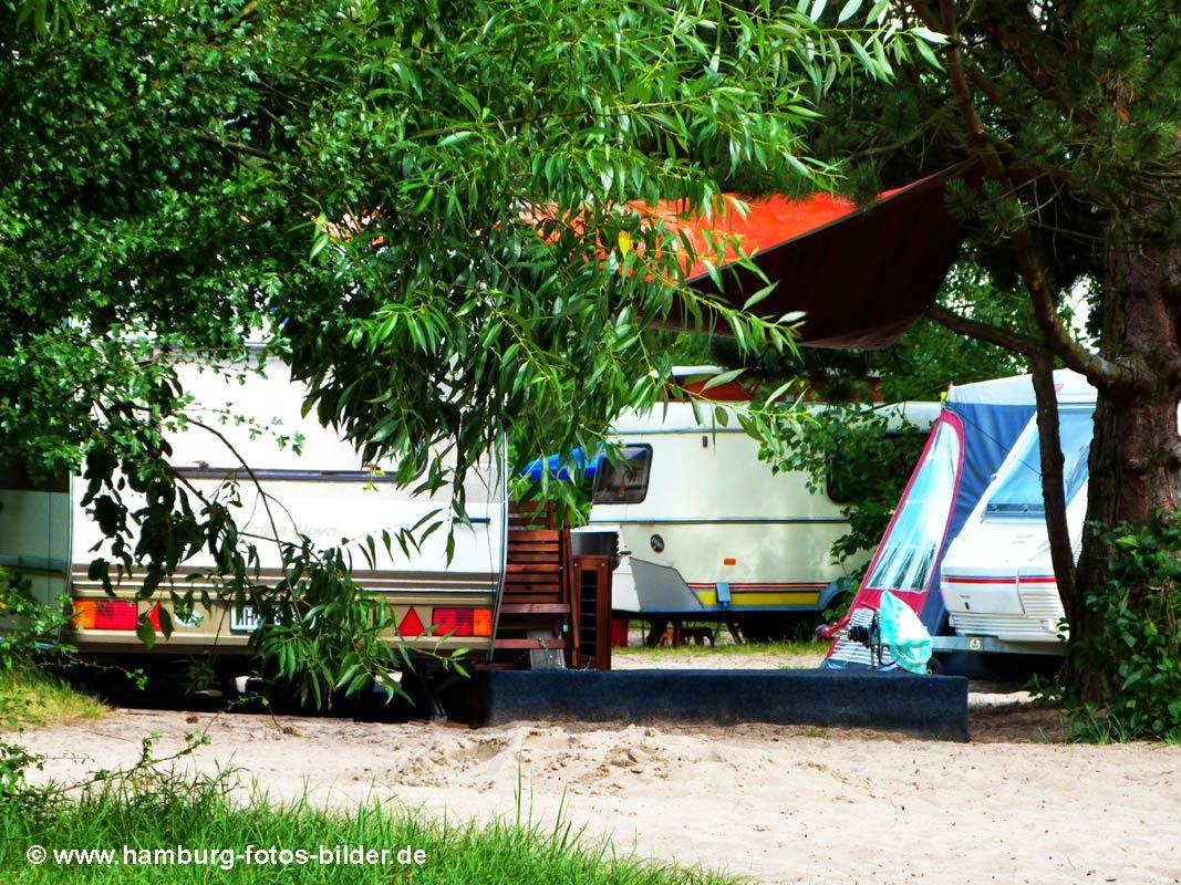 Campen in Hamburg, Campingplatz Elbecamp