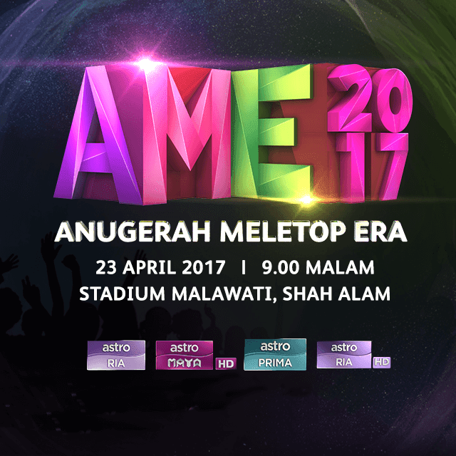 Live Streaming ANugerah Meletop Era 2017 [AME2017]