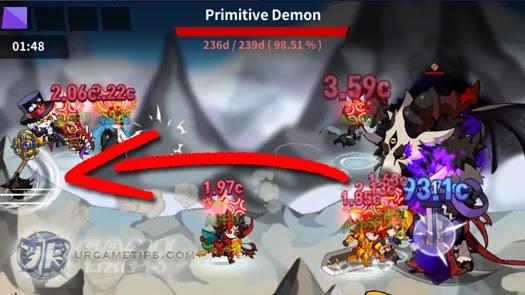 Lucid Adventure: Idle RPG - Strategy for Primitive Demon Battle