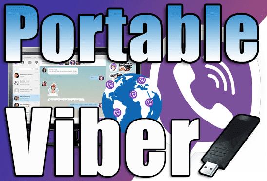 تحميل برنامج فايبر للكمبيوتر Viber Portable نسخة محمولة اخر اصدار