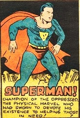 Primera aparición de Superman