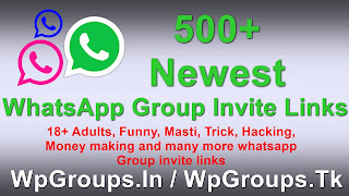Join Unlimited Whatsapp Group New 500+ Whatsapp Group Invite links