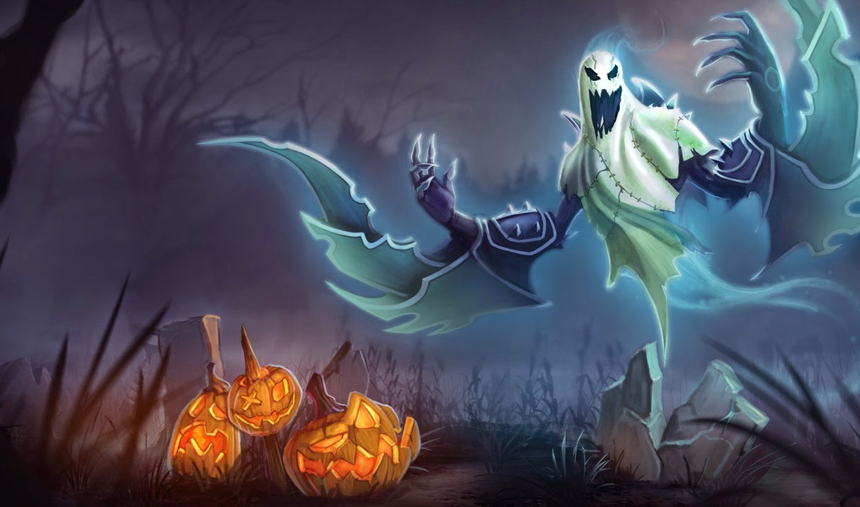 ghost haunting: Image Nocturne Hauntingskin League Legends Wiki