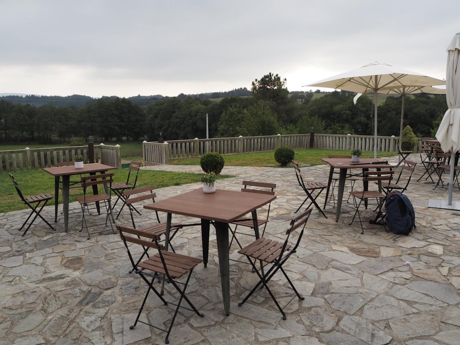 Terrace Apartamentos Turísticos Porto de Bois Camino Frances