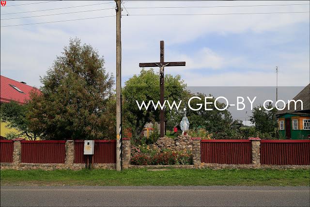 Налибокская пуща. Янковичи. Католический крест