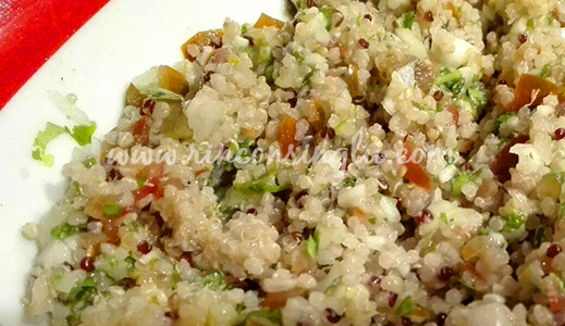 tabule de quinoa sin gluten