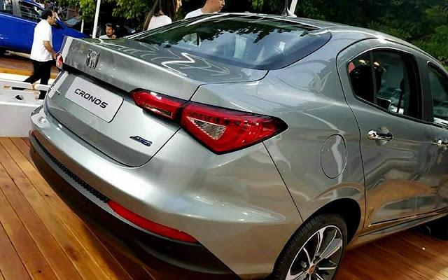 Fiat Cronos é apresentado na argentina na versão 1.8 Precision AT