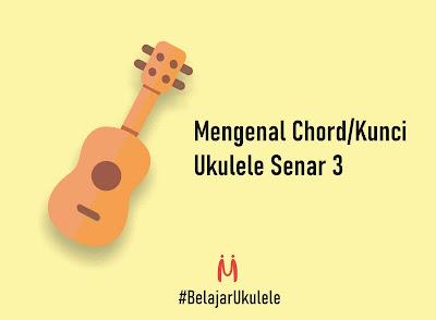 benner belajar ukulele mingseli