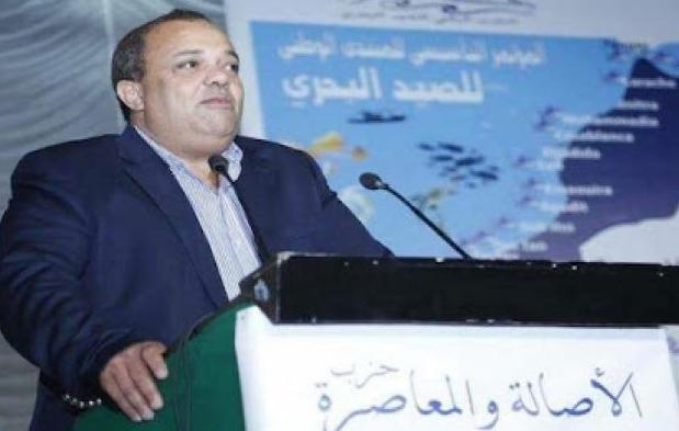 محمد ودمين وكيلا لحزب الجرار بانزكان -ايت ملول