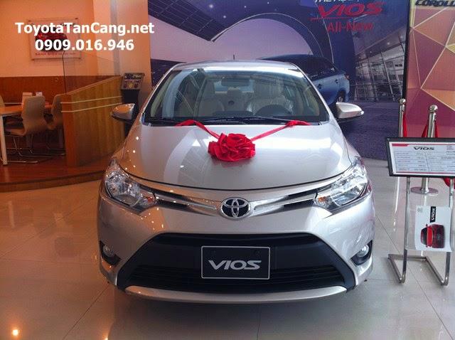 toyota vios 1 5 e toyota tan cang 2 -  - Giá xe Toyota Vios 1.5E khuyến mãi tốt nhất Tp. Hồ Chí Minh