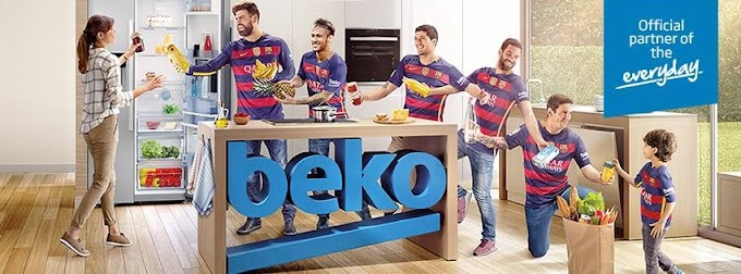 Beko's on promotions! Buy a Beko and get a chance to go to Barcelona FREE!