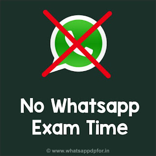 no-whatsapp-exam-time