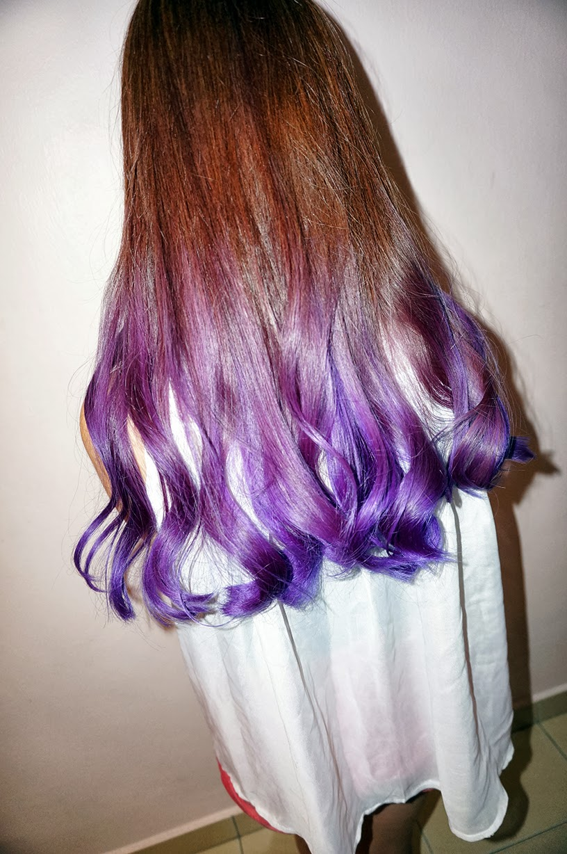 Light Purple Ombre Hair 2015 New Hairstyles