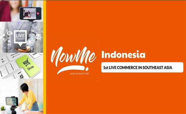 NOWME Live Commerce Pertama di Asia