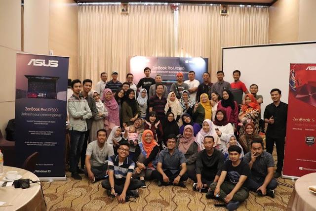 ASUS Year End Microsoft Blogger Gathering Semarang 2018