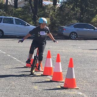 UniNats 2017 Australian Unicycle Championships Slalom