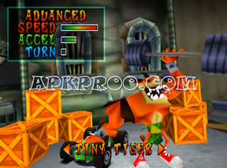 Game Crash Tag Team Racing PPSSPP ISO High Compress Full Version Free Download