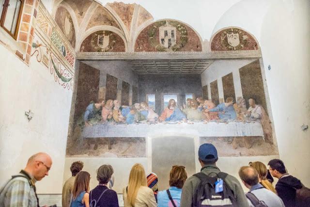Tour pela igreja Santa Maria delle Grazie em Milão
