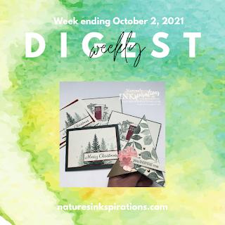 Weekly Digest #36 | Week Ending 2 October 2021 |  Nature's INKspirations by Angie McKenzie