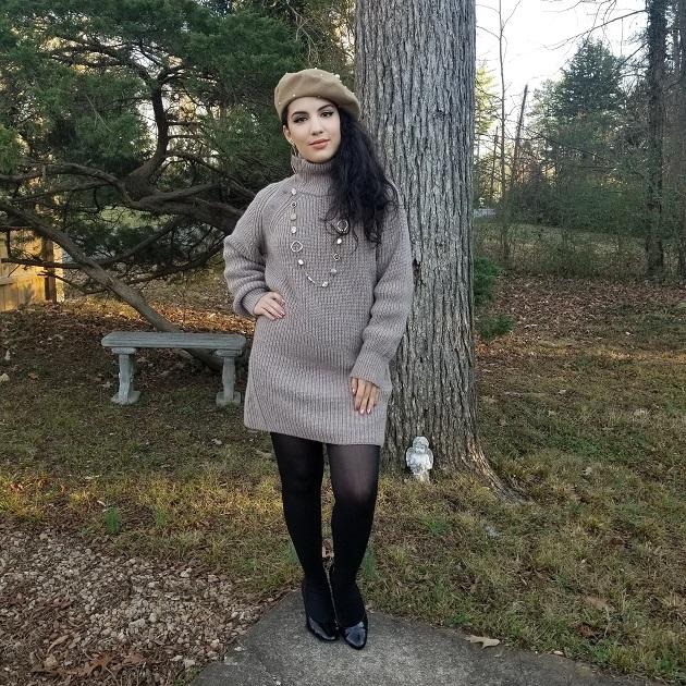 Messwoolen Sweater Dress