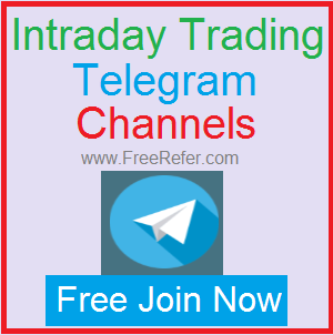 Telegram channels for intraday trading in India