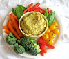 Avocado Chickpea Hummus