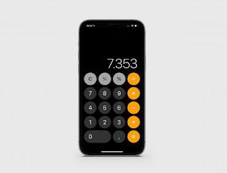 Fitur kalkulator iphone apple