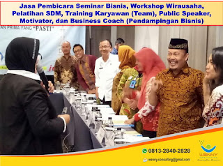 Pelatihan Karyawan di Jogja, PELAYANAN PRIMA kepada Konsumen, KemenkumHAM Dirjen AHU Surabaya, Bandung, Jakarta (by: Wenny Consulting)