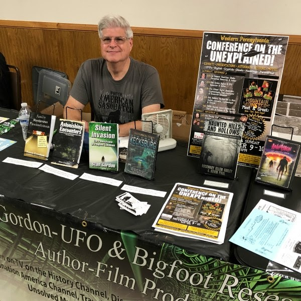 Stan Gordon: UFO and Cryptid Encounters Active in Pennsylvania During 2020 Despite the COVID-19 Scare