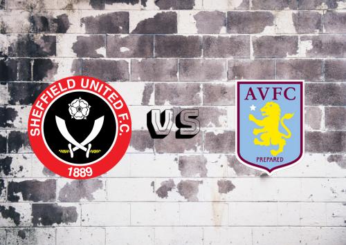 Sheffield United vs Aston Villa  Resumen