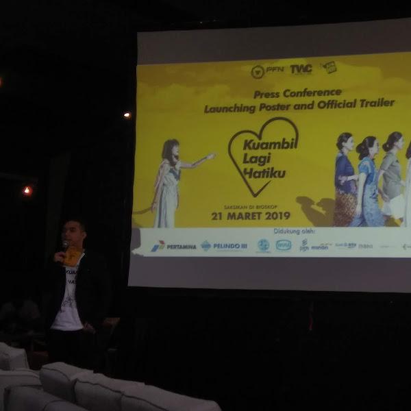 Produksi Film Negara Siap Rilis Film Kuambil Lagi Hatiku 21 Maret 2019