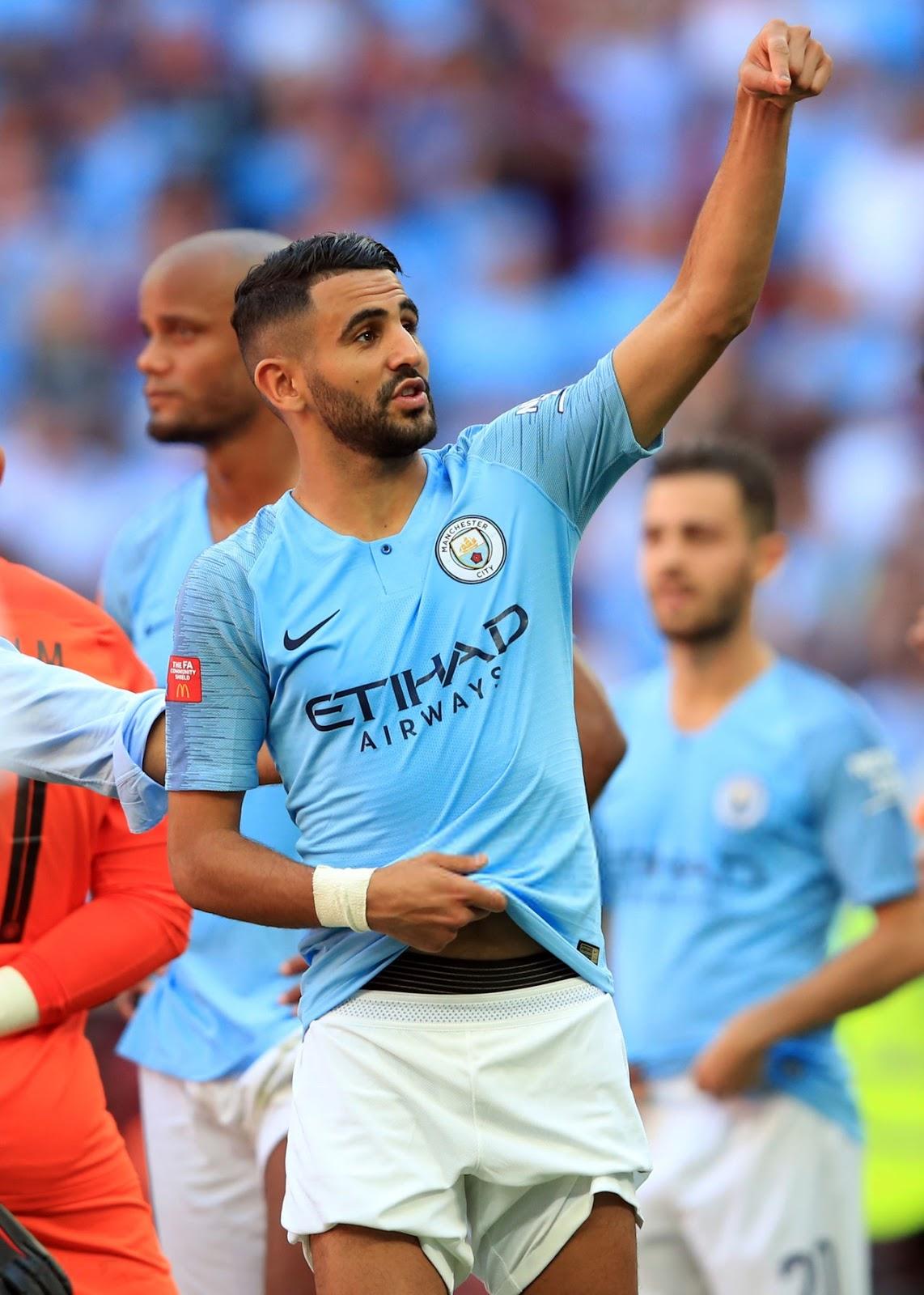 Footballers In Underwear: RIYAD MAHREZ