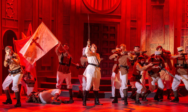 Massenet: Le Cid - Leonardo Capalbo - Dorset Opera (Photo Fritz Curzon)
