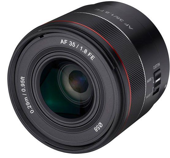 Samyang AF 35mm f/1.8 FE