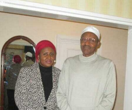 Buhari and Wife Photos In London