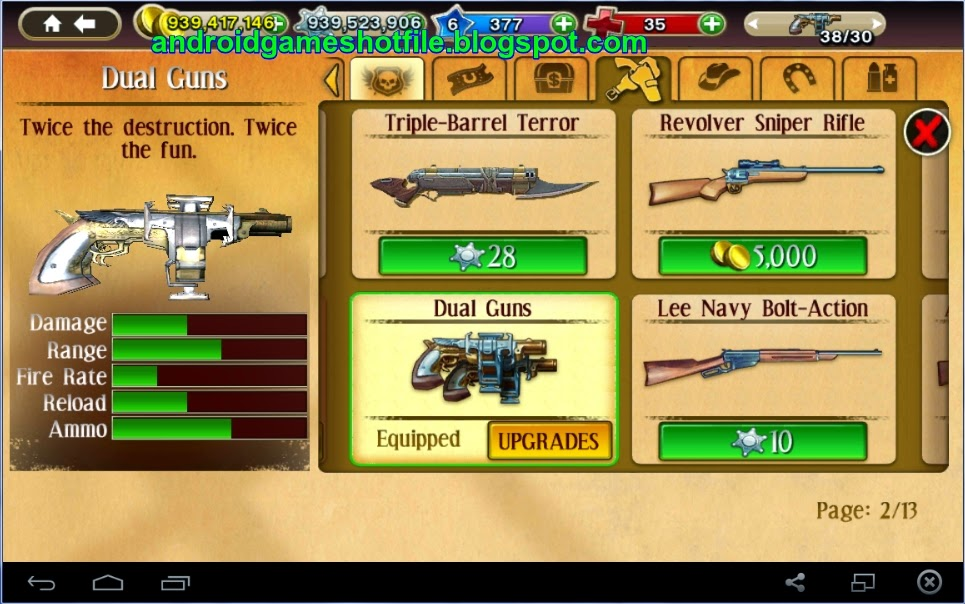 Six-guns: g. S. Apk download _v2. 9. 0h + mod (unlimited money.