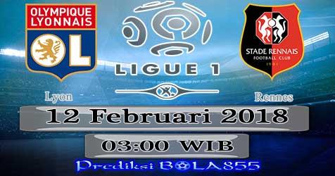 Prediksi Bola855 Lyon vs Rennes 12 Februari 2018