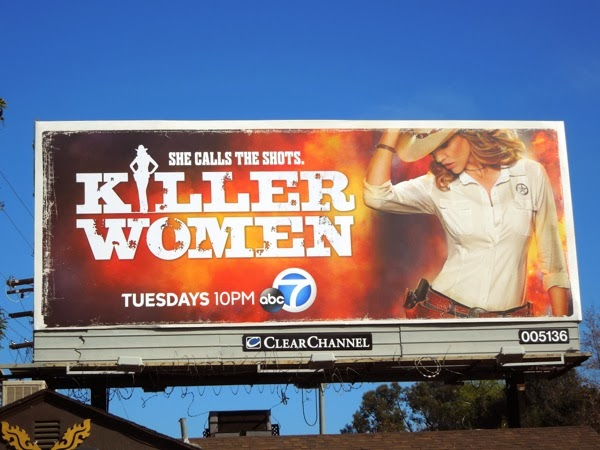 Killer Women series premiere billboard