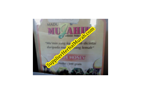 Madu Putih Mujahid 0.5 kg (White Honey)