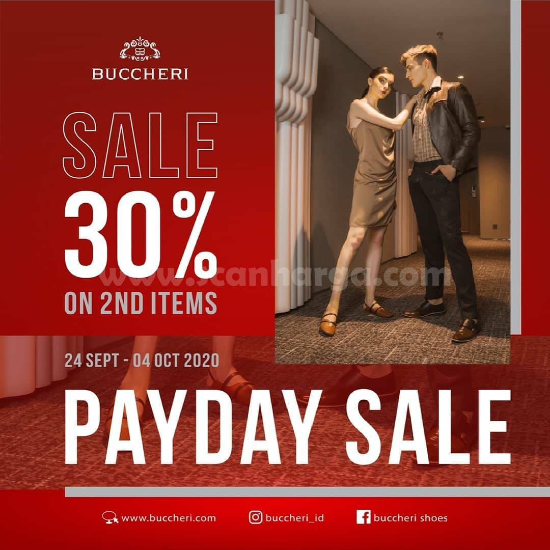 Promo BUCCHERI Payday Sale Periode 24 September - 4 Oktober 2020